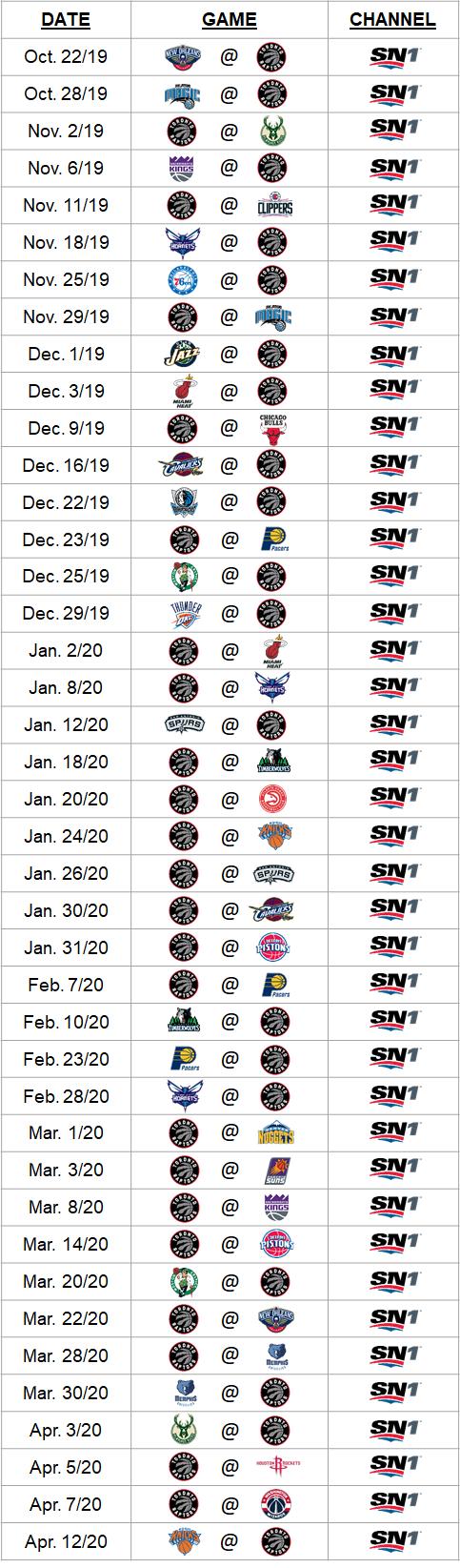 Raptors-on-sn-2019-20
